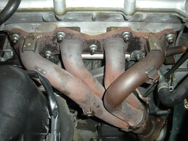 Exhaust Header Installed.JPG