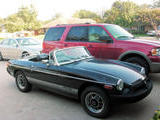 1980 MG MGB Limited Edition LE Black Lee Reed