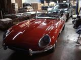 1966 Jaguar E Type Convertible Red Robert Clark
