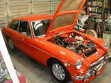 1973 MG MGB GT Blaze Red Paul Tegler