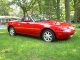1992 Mazda MX 5 NA Red Paul Tegler